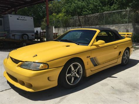 1994 mustang gt for sale 1994 ford mustang gt convertible 2 door 5 0l cobra saleen