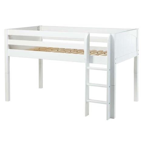 low bunk beds low rider panel low loft bed rosenberryrooms com