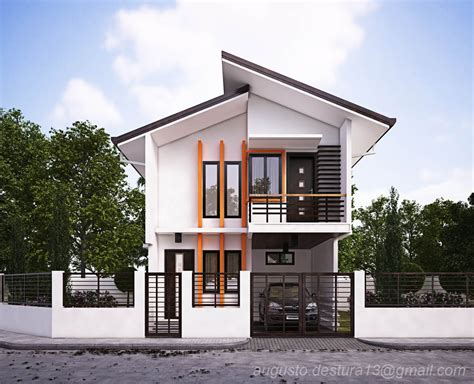 2018 modern design house roof top modern house design