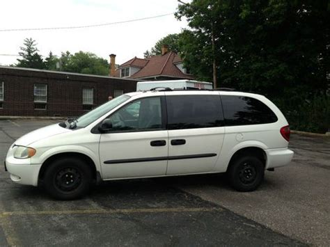 sell used dodge grand caravan 2003 handicap wheelcair van in solon ohio united states for us