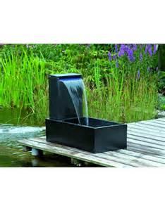 springbrunnen terrasse ubbink casale terrasse brunnen acqua arte