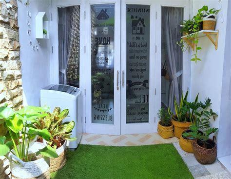 Karpet Unik Rumput Sintetis rumah 32 meter ini punya indoor garden ini dekorasi ajaibnya