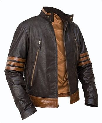 Best Seller Jaket Kulit Wolverine Original Wolfrine wolverine origins logan motorcycle leather jacket 139 99 the jacket shop your one