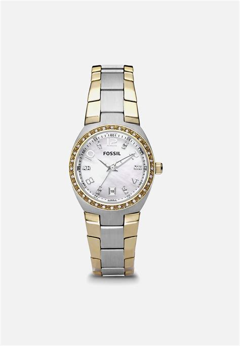 Fossil Am4183 fossil serena am4183 gold silver fossil watches