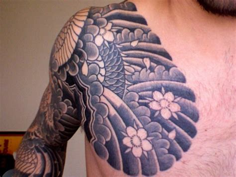 oriental tattoo on chest japanese chest tattoo for womenhelenasaurus