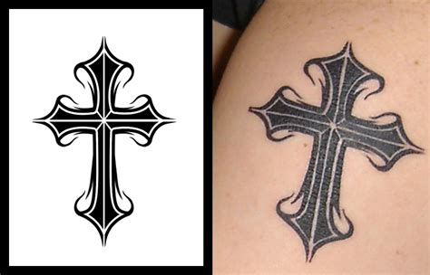 latin cross tattoos tattoos for all cross