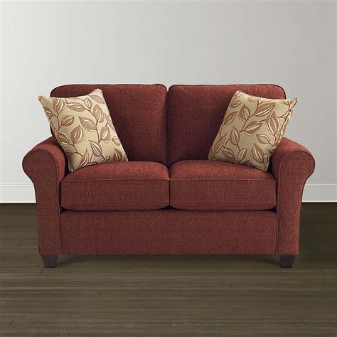Traditional Style Upholstered Loveseat