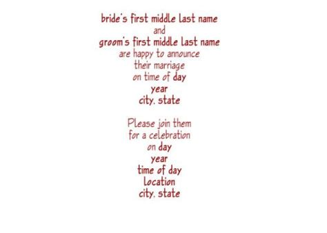 Wedding Announcement Reception Wording by Rustic Wedding Invitation Wording Sles All About