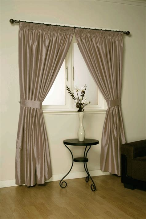 java faux silk pencil pleat lined curtains ebay verona faux silk designer ready made lined curtains in 8