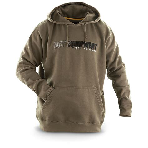 Cat Hodie Jaket cat 174 feel the power embroidered hoodie 192065 sweatshirts hoodies at sportsman s guide
