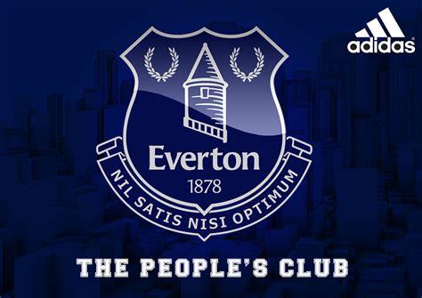 everton football club adidas sponsor  behance