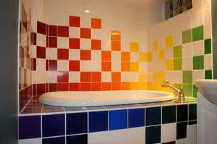 colorful bathrooms colorful bathroom tiles furnishing iroonie