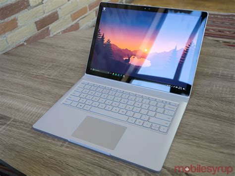 Microsoft Surface Book I7 surface book i7 review one for the pros mobilesyrup