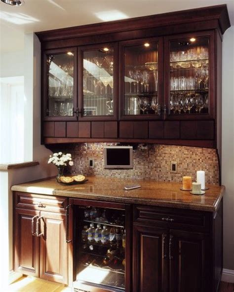 built in bar cabinets with sink cabinets behind bar for the home small