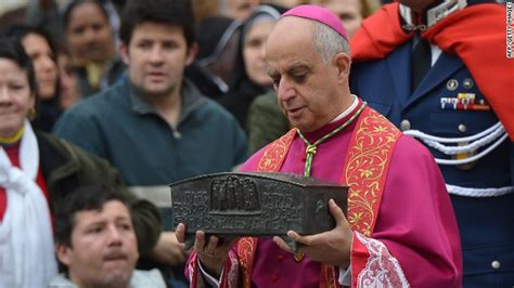 the king of bones and ashes witches of new orleans books pope puts st s bones on display at vatican cnn