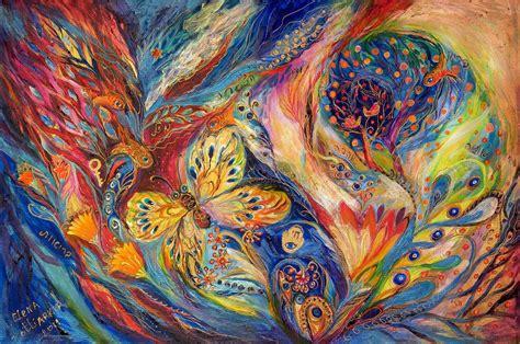 paint dream the chagall dreams greeting card by elena kotliarker