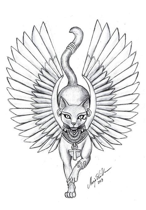 egyptian cat tattoo best 25 cat tattoos ideas on bastet