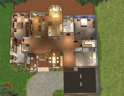 Arbordale House Plan Mod The Sims Arbordale Landing