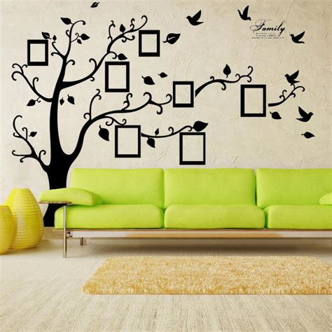 X Large Room Photo Frame Decoration Family Tree Wall Decal