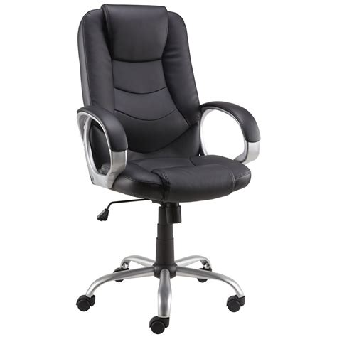 office chairs at staples staples darcy bonded leather executive chair black staples 174