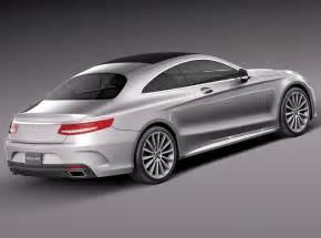 Mercedes Cars Models Mercedes S Class Coupe 2015 3d Model Max Obj 3ds