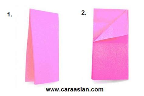 Kertas Origami Kecil cara membuat origami bunga dengan mudah tutorial