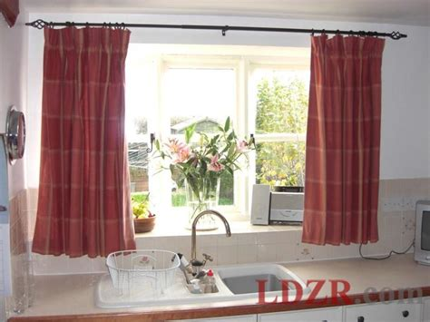 Popular Kitchen Curtains And Window Treatments Kitchen Window Curtain Ideas
