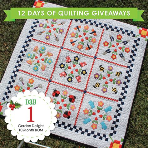 Quilt Giveaway by Day 1 Of 12 Days Of Quilting Giveaways Stitches Of