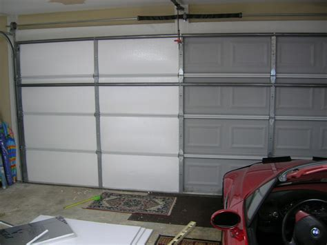 Insulating A Garage Door Living Stingy Insulating Your Garage Door For Cheap