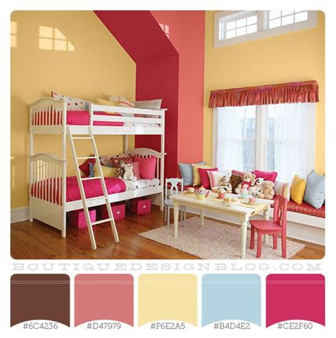 color schemes for little girls bedrooms girls room color scheme color pinterest