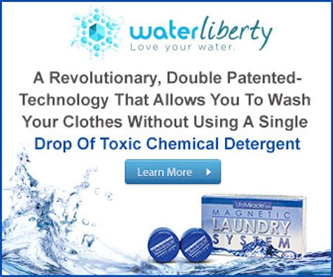 water liberty magnetic laundry system review water
