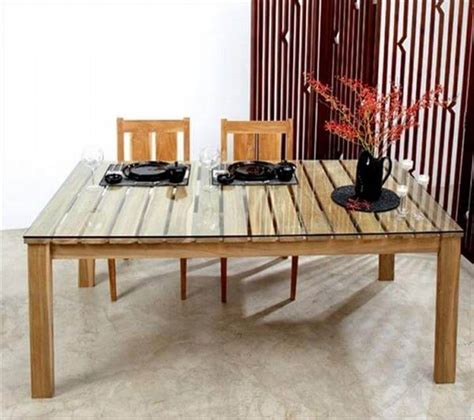 Pallet Dining Table Diy Pallet Dining Tables 101 Pallets