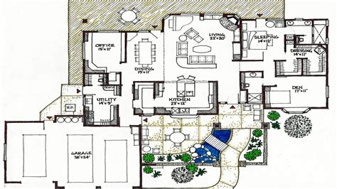 passive solar floor plans passive solar house plans simple passive solar house plans