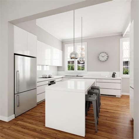 gloss kitchen designs best 25 white gloss kitchen ideas on pinterest worktop