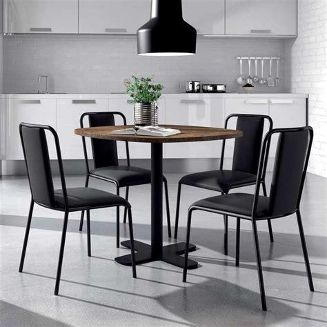 Table Ronde Cuisine by Table Ronde Pour Cuisine En Stratifi 233 Avec Pied Central