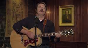 nick offerman youtube whiskey nick offerman sings a song about whiskey video lightly