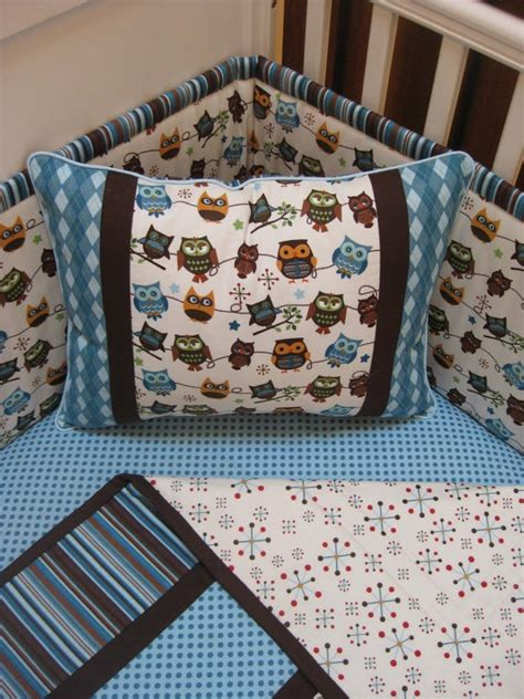 Owl Baby Crib Set Owl Crib Bedding Nursery Ideas