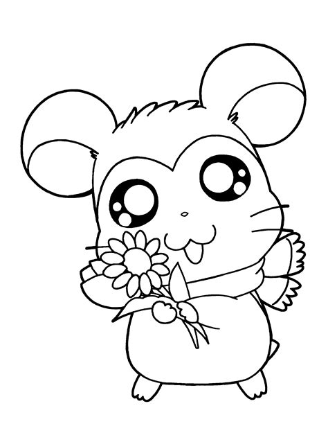 hamtaro coloring pages online coloring page hamtaro coloring pages 35