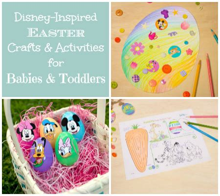 disney inspired crafts and activities for kids family disney easter crafts and activities for babies and