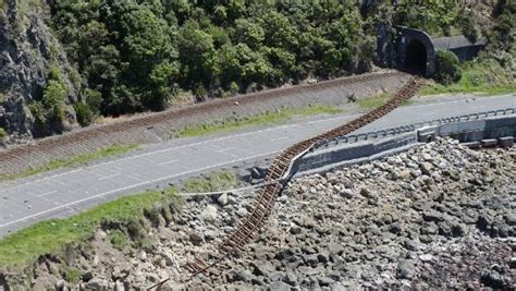 earthquake repairs crucial to viability of rail in new