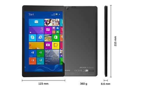 Tablet Murah Windows 8 archos 80 cesium tablet murah os windows 8 1 hanya 1 8 jutaan ponseluler