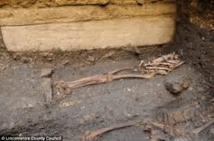 Bishop S Castle Great skeleton found buried beneath lincoln castle could belong