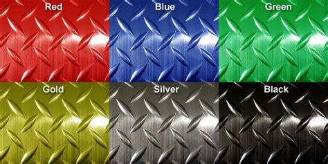 Metallic Diamond Plate Runner Mats are Runner Mats by