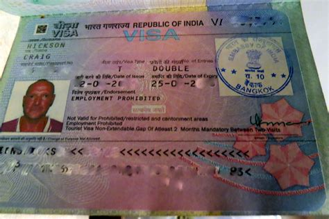 How To Get A Visa - how to get a visa for travel to india in bangkok flashpacking travel blog