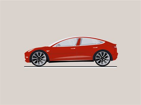 Tesla En Tesla Model 3 Slideshow By Christophe Hovette Dribbble