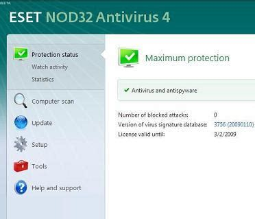 cara upgrade full version eset nod32 antivirus 4 bedava eset nod32 antivirus 4 indir torrentsfinger