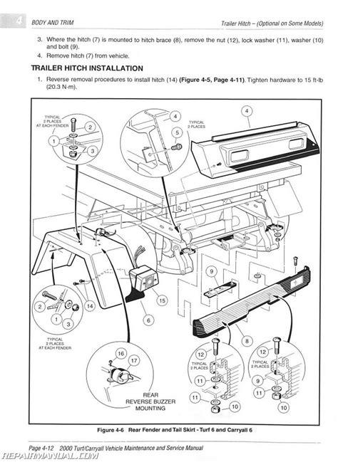 car engine repair manual 2012 toyota venza user handbook 2000 club car turf carryall turf 1 turf 2 turf 6 carryall 1 carryall 2 carryall 2 plus