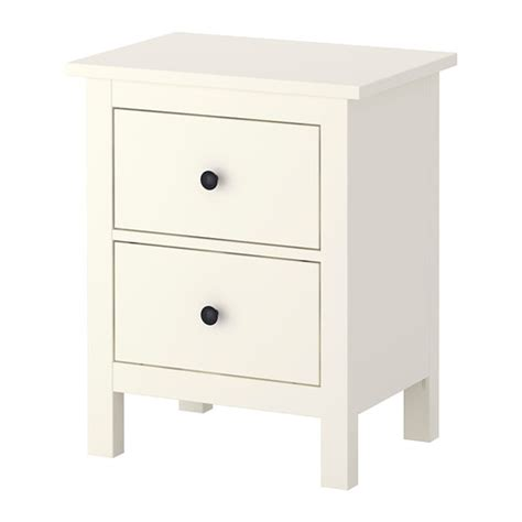 White Bedside Drawers Ikea Hemnes Chest With 2 Drawers White Ikea