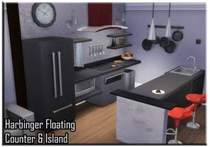 Island Counter by My Sims 4 Blog Harbinger Floating Counter Amp Island By