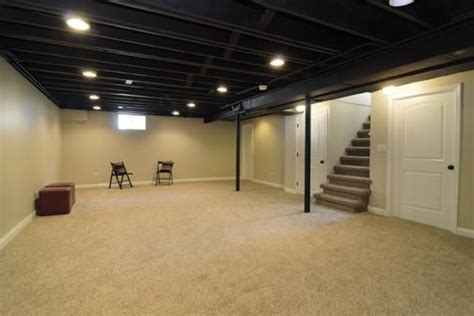 Painting Basement Ceilings by I Want To Paint Our Basement Ceiling Black Yes I Do